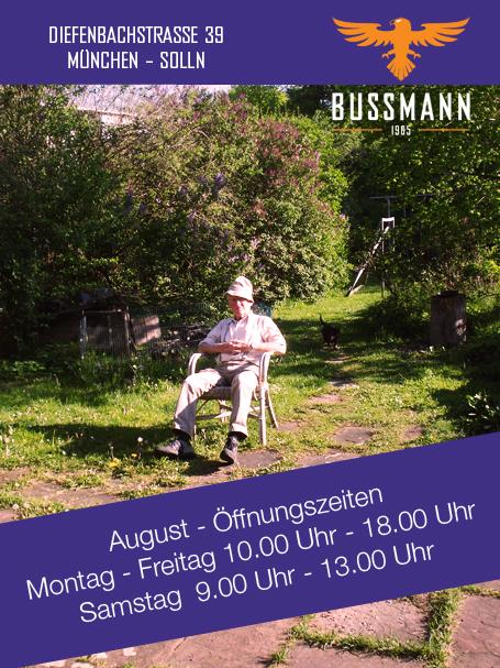 Oeffnungszeiten Optik Bussmann August 2016