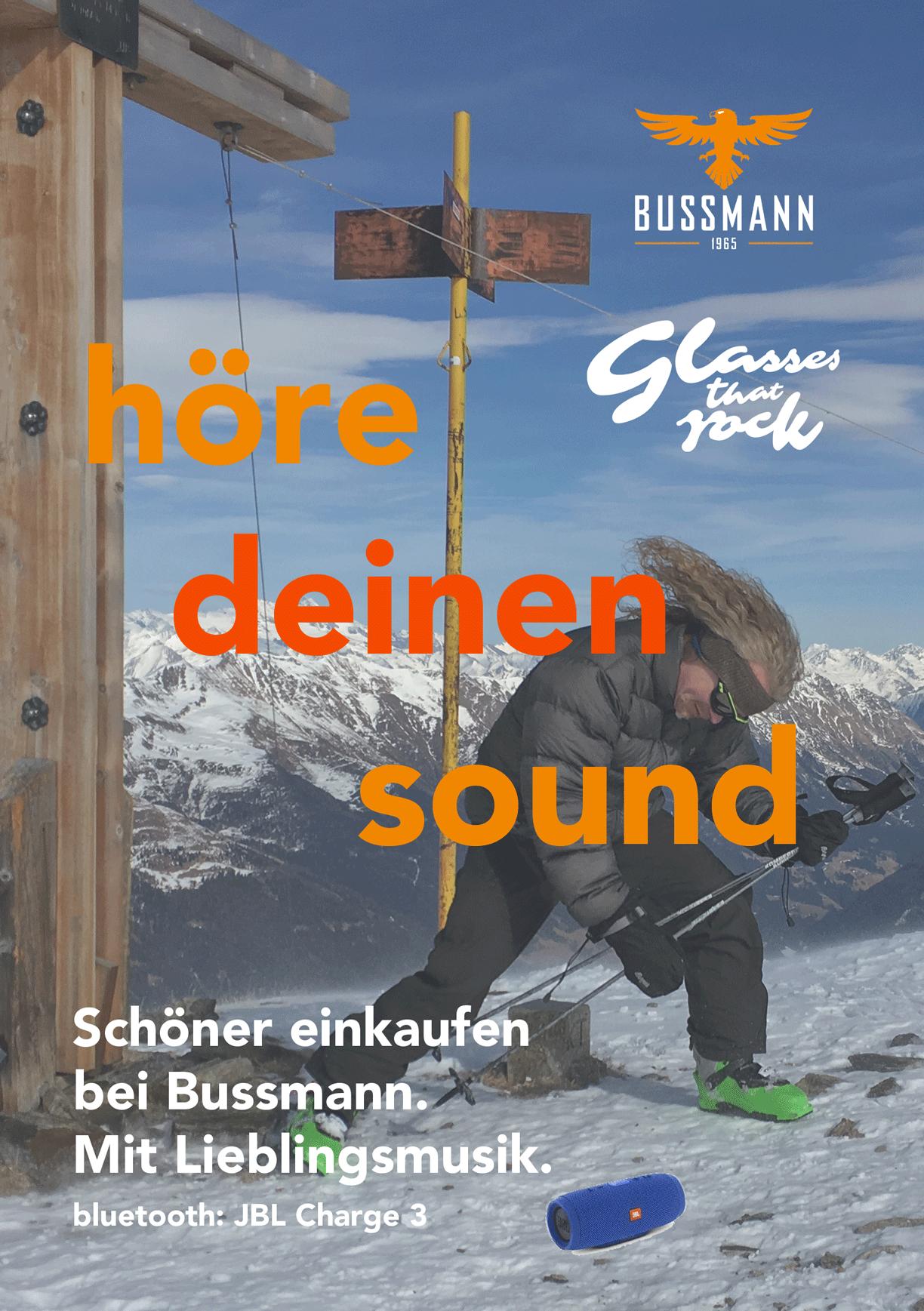 höre deinen sound mit unserer boombox